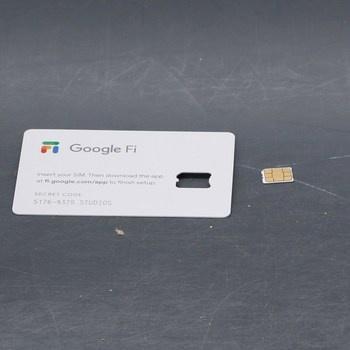 SIM karta Google Fi B07P5GP11P