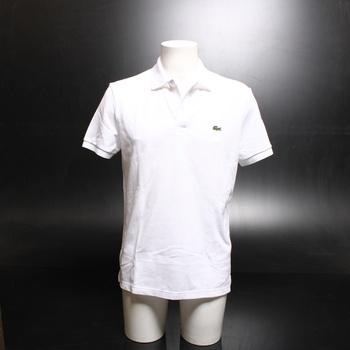 Pánské polo triko Lacoste bílé