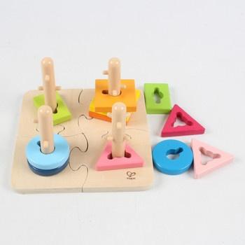 Kreativní dřevěné puzzle Hape