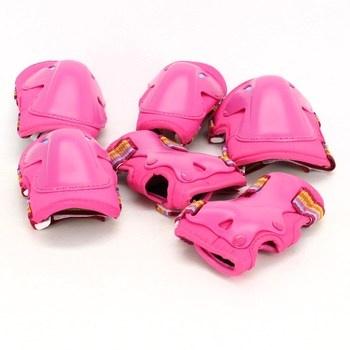 Set chráničů Roces růžové
