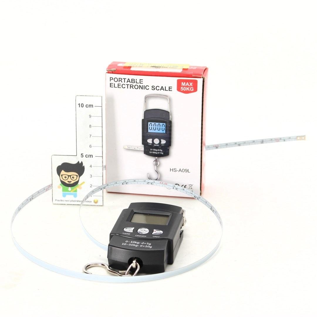 Digitální váha HS-A09L černá