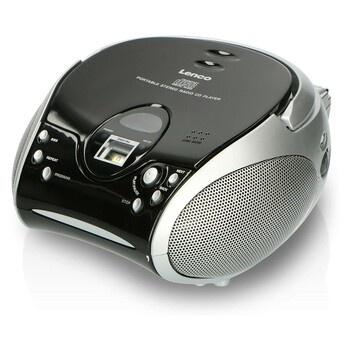 Radiopřijímač s CD Lenco SCD-24 Silver