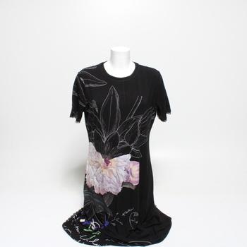 Dámské šaty Desigual květina XL