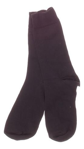 Dámské ponožky hladké černé