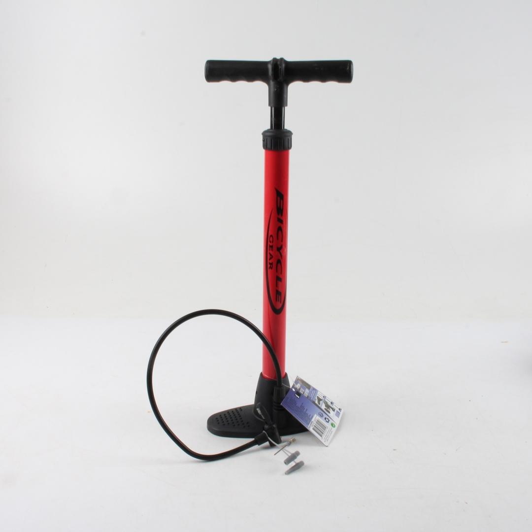 Pumpička na kolo Bicycle Gear červená