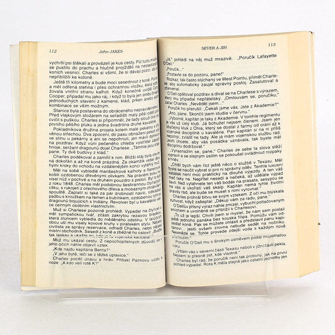 Kniha Jonh Jakes: Sever a jih 2. díl