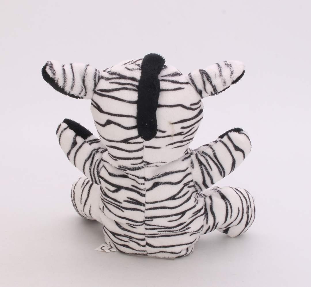 Plyšový maňásek na ruku - zebra