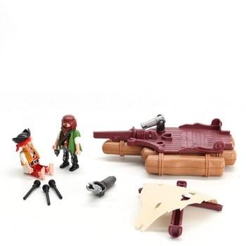 Sada hraček Playmobil piráti na voru