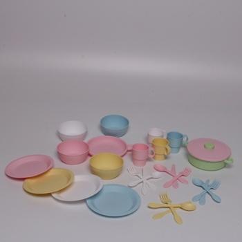 Plastové nádobí KidKraft 27 ks