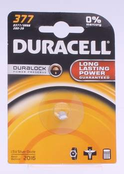 Baterie Duracell 1,5V Silver Oxide