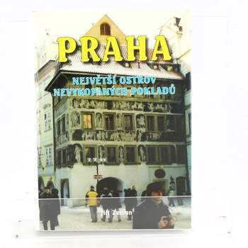 Kniha Praha, největší ostrov