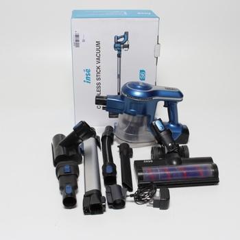 Akumulátorový vysavač INSE S6-EU 4v1 modrý