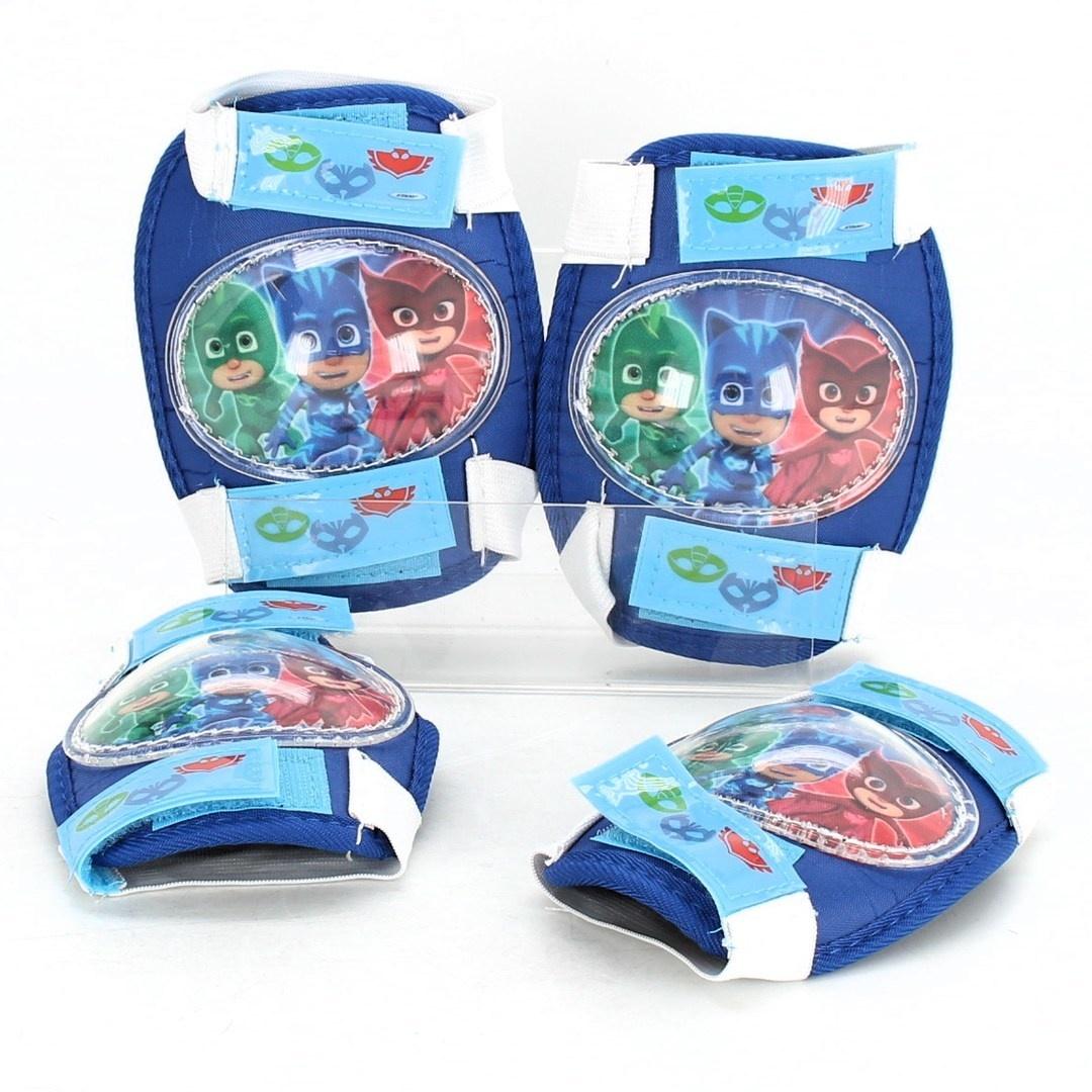 Dětská helma Sonic PJMASKS s chrániči
