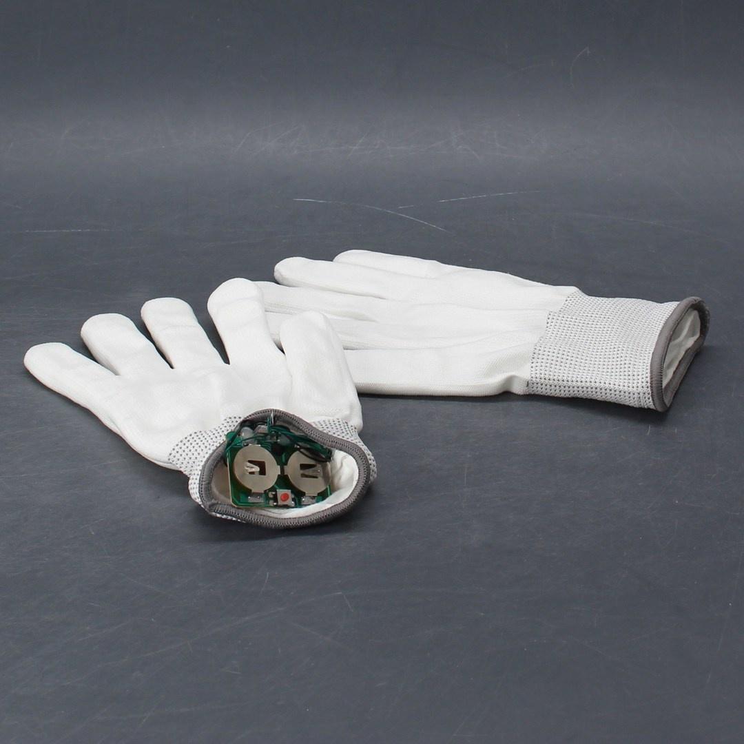 LED svítící rukavice - 3 režimy