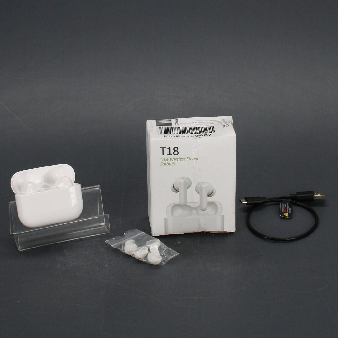 Bezdrátová sluchátka T18 wireless