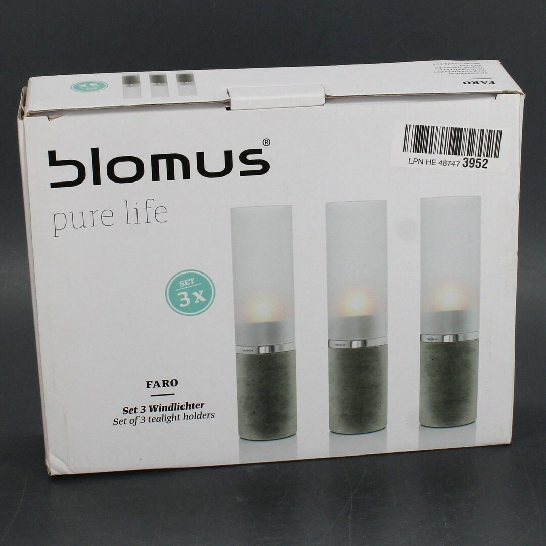Dekorační set svícnů 3ks Blomus 88024