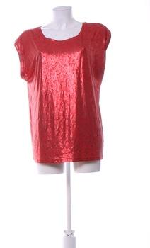 Dámský top Pepco elegantní červený