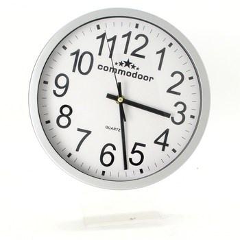 Nástěnné hodiny QUARTZ Commodoor bílé