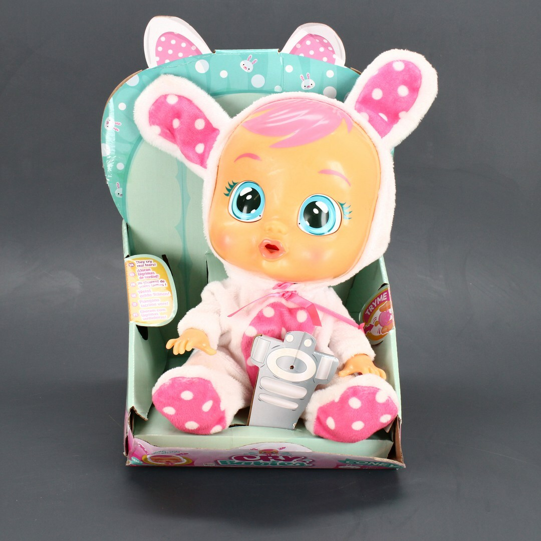Miminko Cry Babies s dudlíkem Coney
