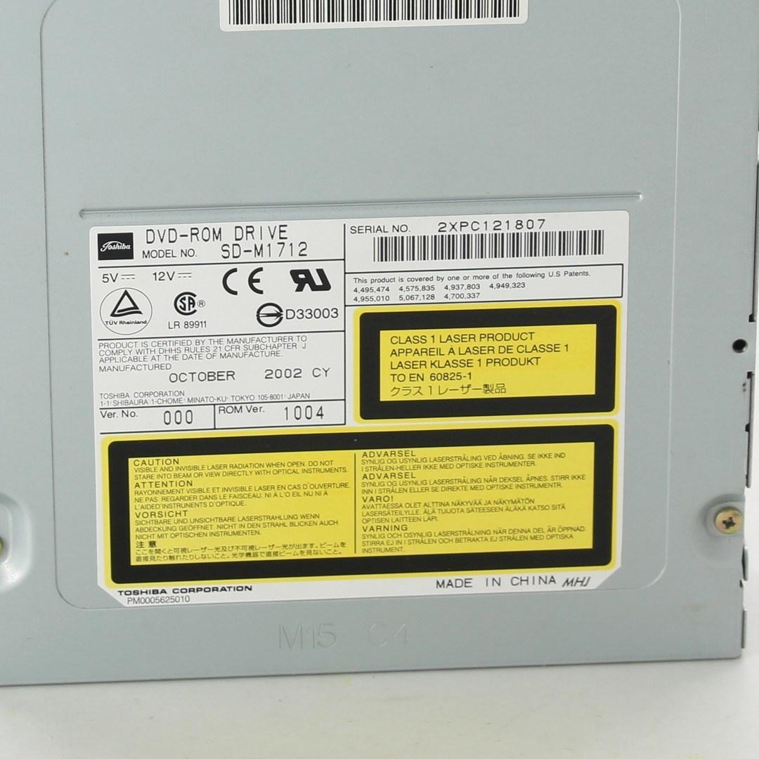 DVD mechanika Toshiba SD-M1712