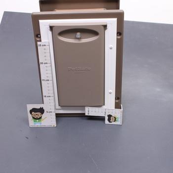 Nástěnné hliníkové dveře PetSafe PPA11-10915