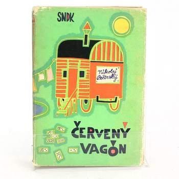 Dětská knížka: Červený vagón