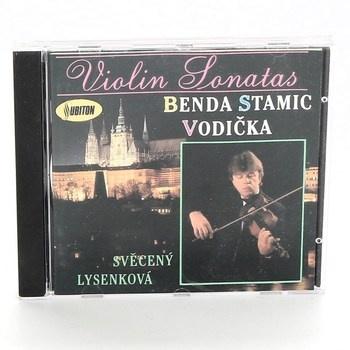 CD: Violon Sonats Benda Stamic Vodička