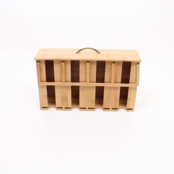 Box na čaje RelaxDays bambusový