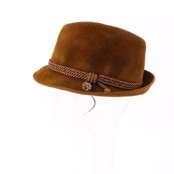 Pánský klobouk odstín hnědé da4aeee549