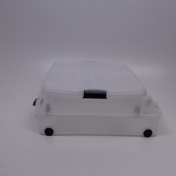 Plastové boxy pod postel Iris 2 ks