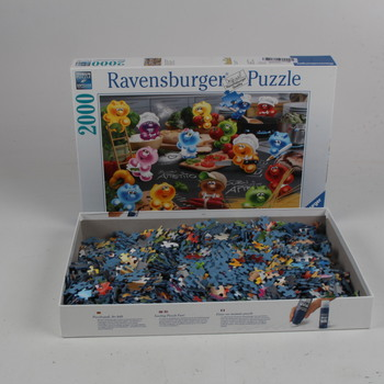 Puzzle 2000 Ravensburger panáčci Gelini