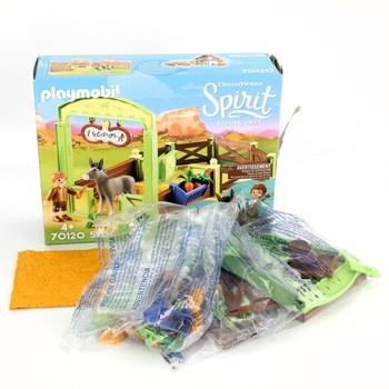 Stavebnice Playmobil 70120 box na koně