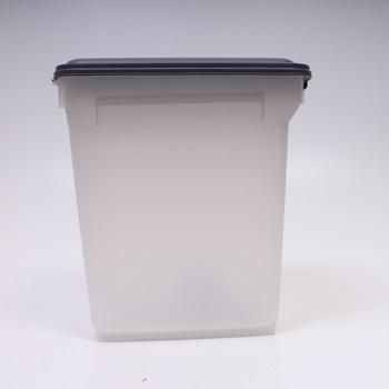 Úložný box plastový Iris s víkem a s kolečky