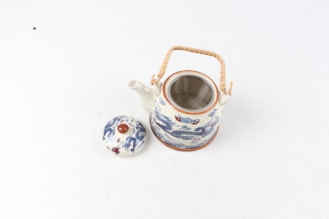 Konvička na čaj s motivem draků