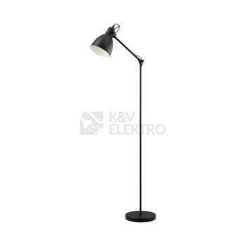 Stojací lampa Eglo 49471 černá