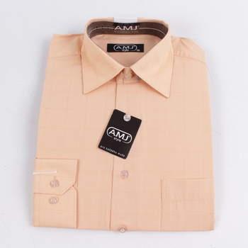 Pánská košile A.M.J. lososová c4c2503f6e