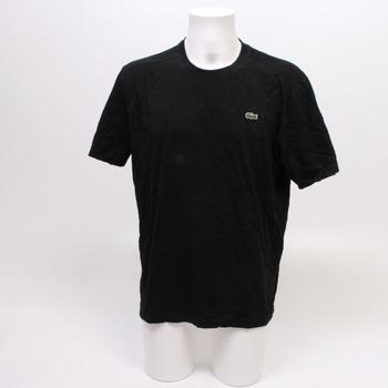 Pánské tričko Lacoste černé