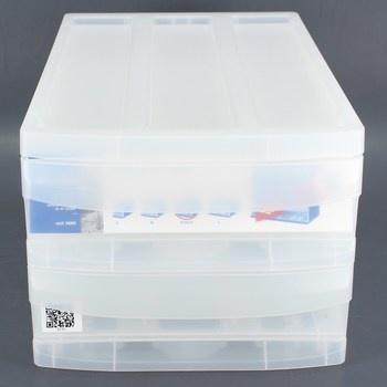 Úložný box se šuplíky Rotho Systemix M Duo