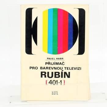 Naučná kniha Přijímač pro barevnou TV