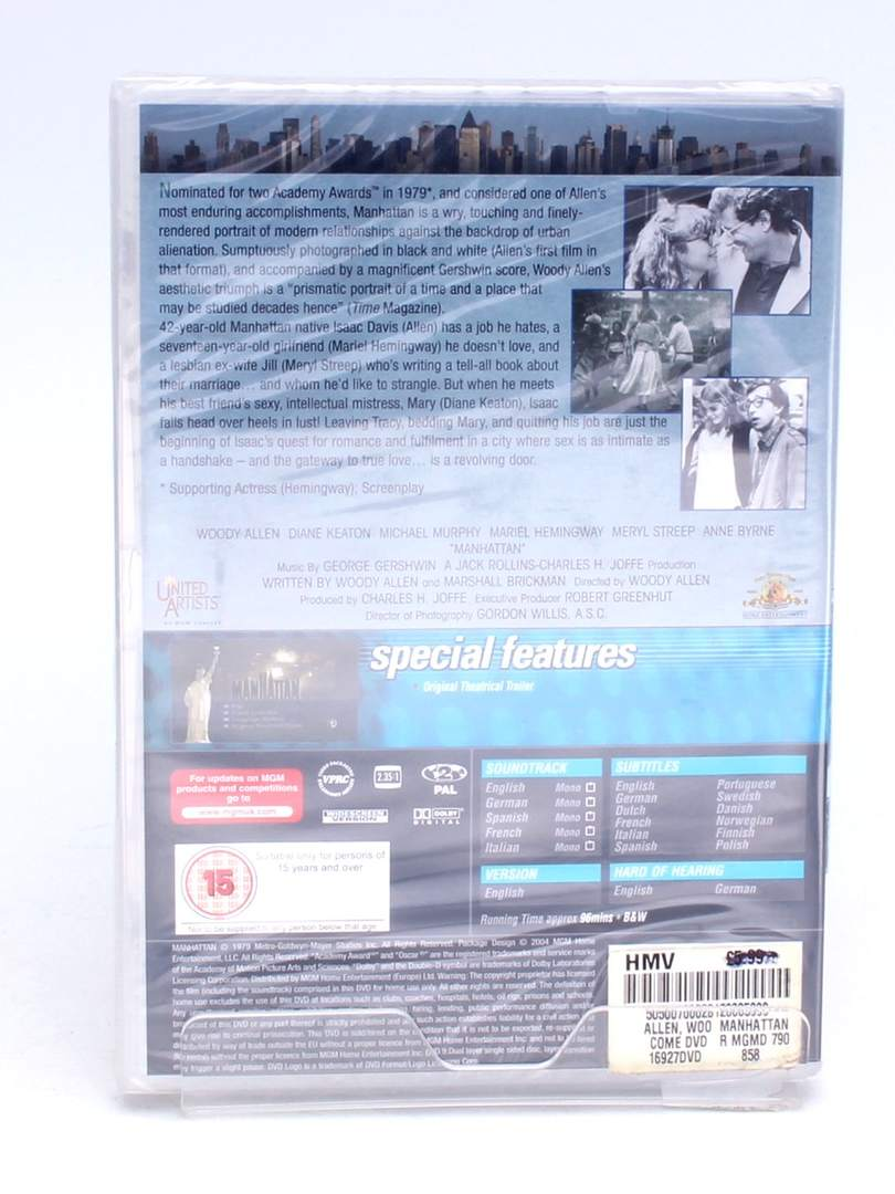 DVD Manhattan Metro Goldwyn Mayer