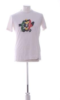 Pánské tričko s krátkým rukávem Cropp bílé