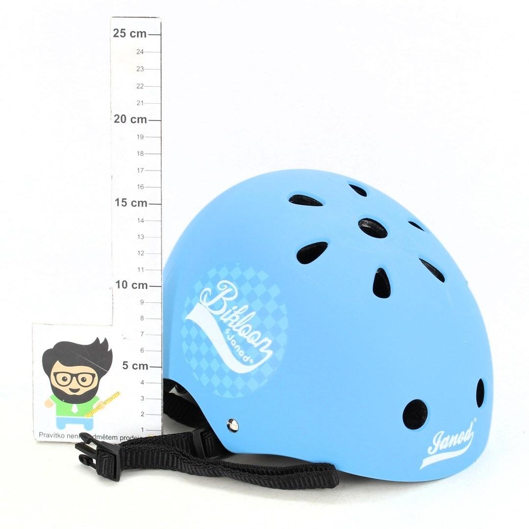 Dětská helma Janod Bikloon modrá