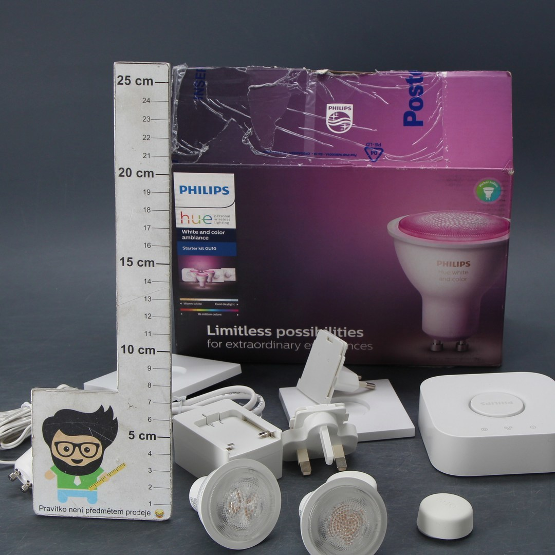 Sada Philips Hue Starter kit GU 10