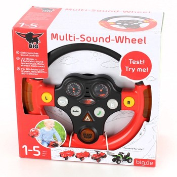 Interaktivní volant BIG Multi-Sound-Wheel