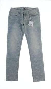 Dámské džíny s maskáčovým zdobením Fracomina