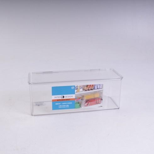 Box s víkem Inter Design průhledný