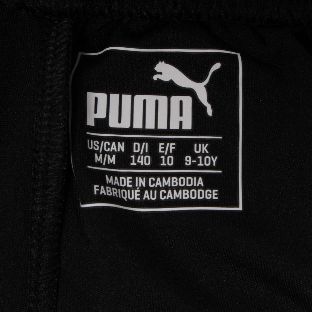 Dětské sportovní šortky Puma černé