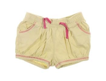 Dívčí šortky Lupilu odstín žluté