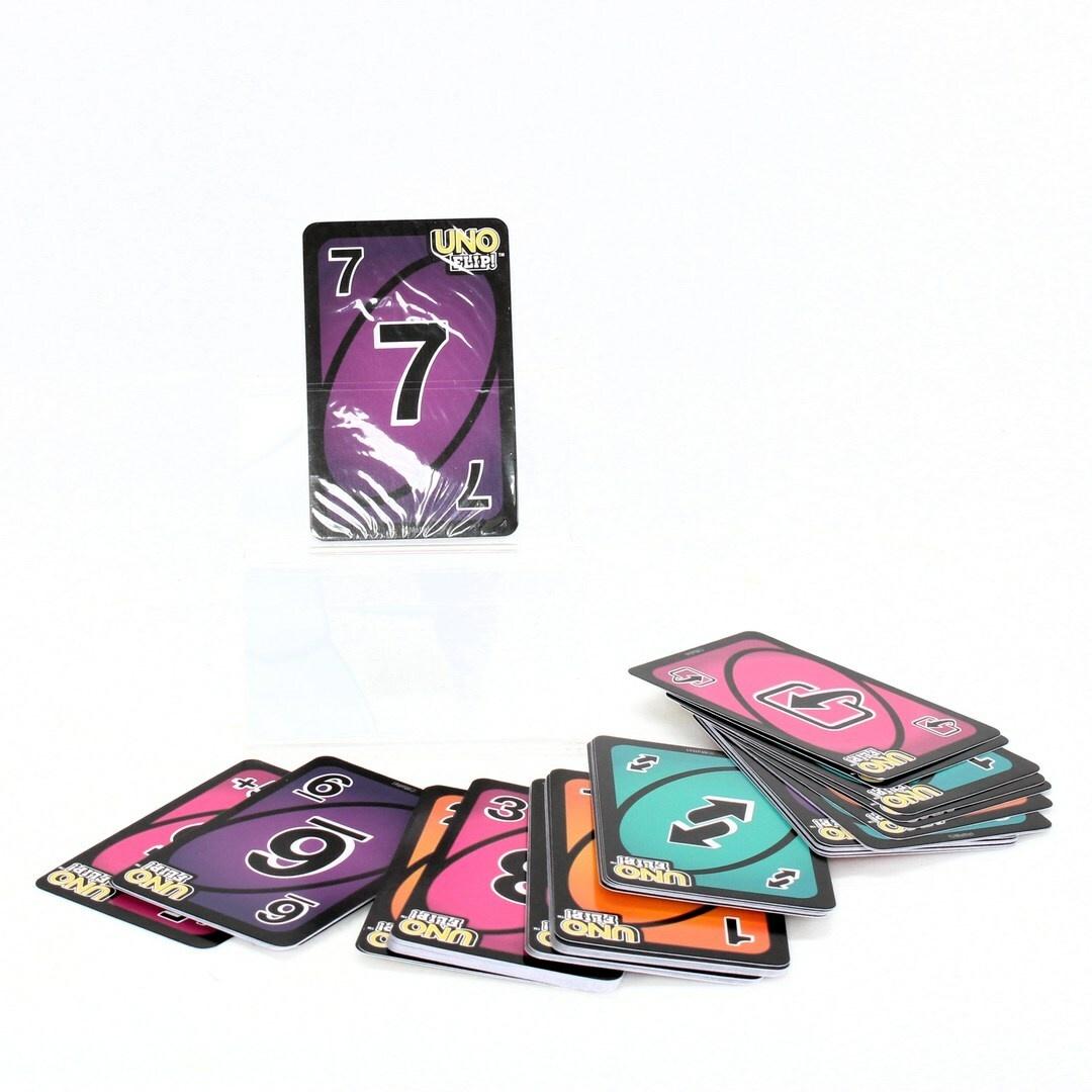Karty UNO Mattel games FLIP!