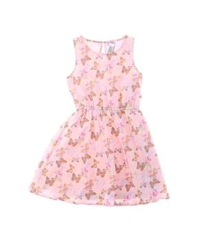 Dívčí letní šaty s motýli F&F